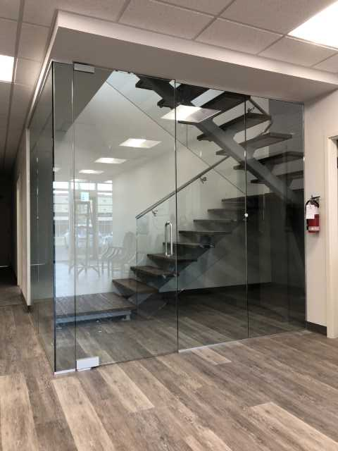 AC Glass Calgary Image Gallery - glass-handrail