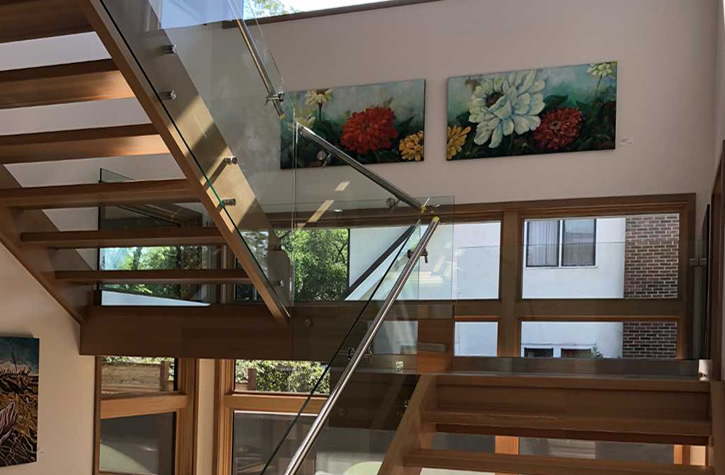 Add Elegance And Space To Any Room Or Deck With Modern And Contemporary  Glass Handrail Systems From AC Glass.
